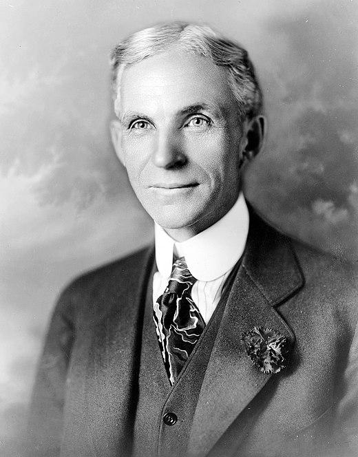 Biographie de Henry Ford