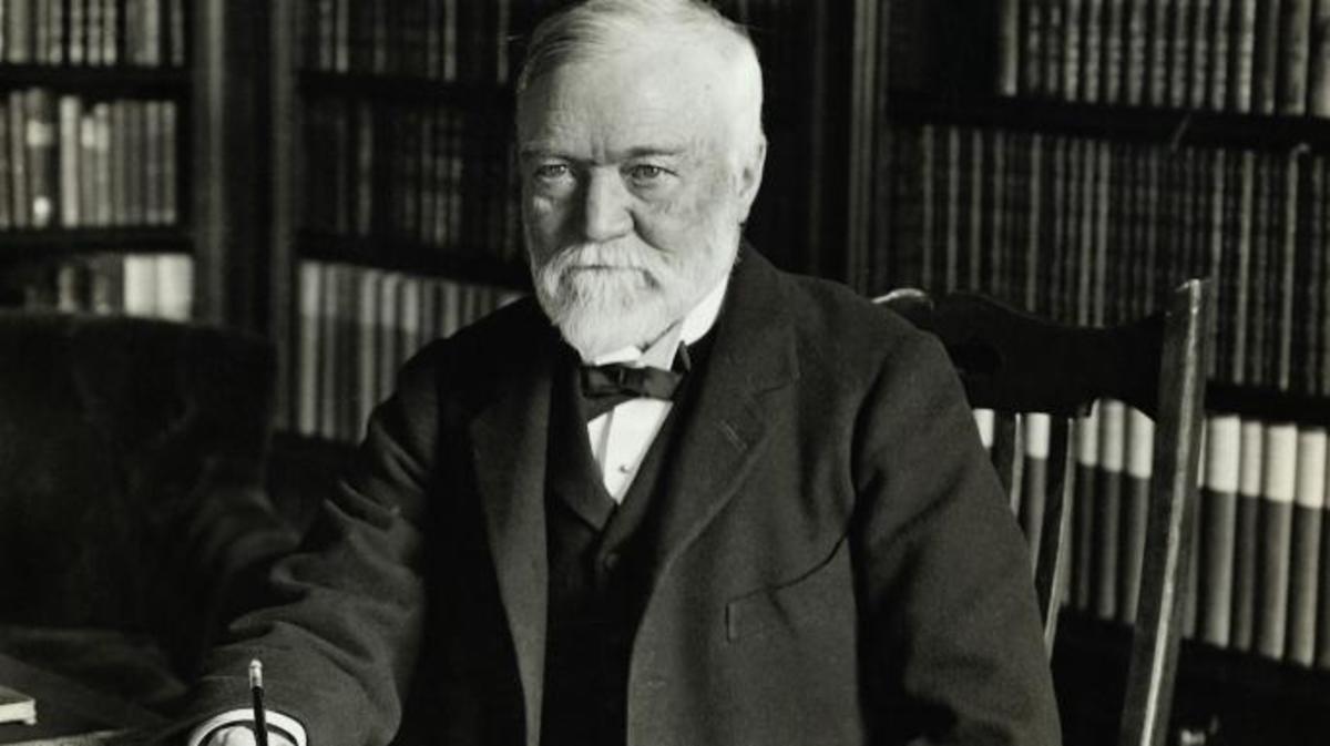 Biographie d'Andrew Carnegie (1835-1919)