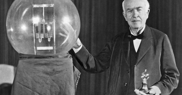 Biographie de Thomas Edison