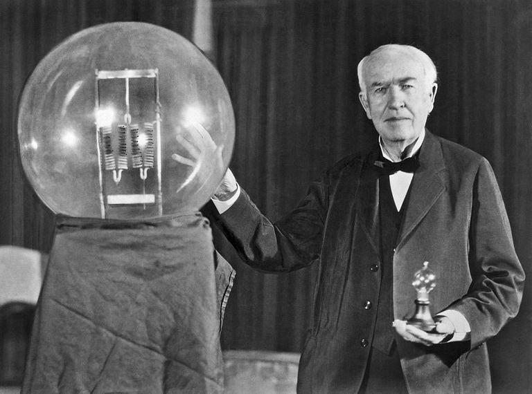 Biographie de Thomas Edison